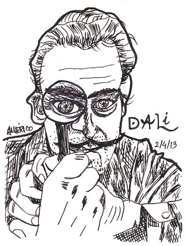 Salvador Dali by americoneves