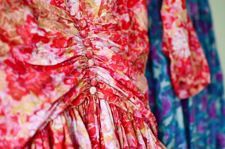 vintage full skirt dresses d