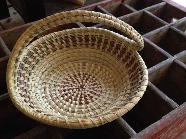 Elizabeth Mazyck Sweetgrass Basket