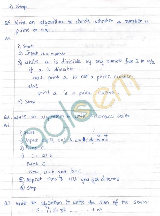 DTU Assignments - 1 Sem - Computer Assignment