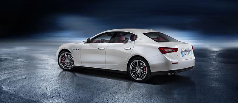 2014 Maserati Ghibli rear