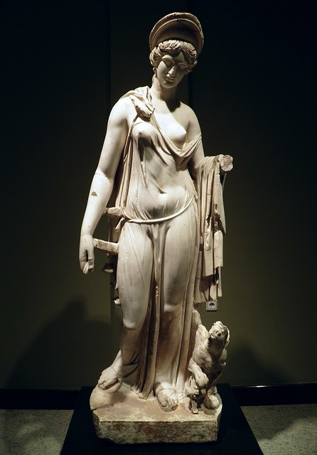 Nemesis, from the Antonine Nymphaeum, 160-180 AD, Burdur Museum