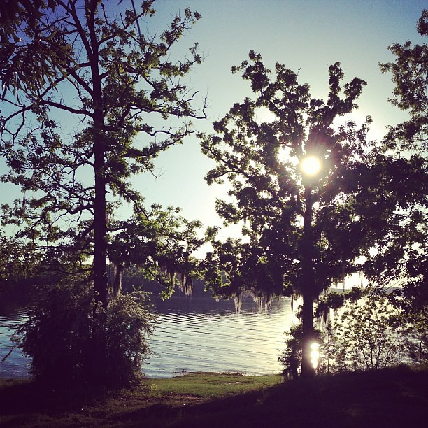 Our view for the rest of the weekend! #lake #camping