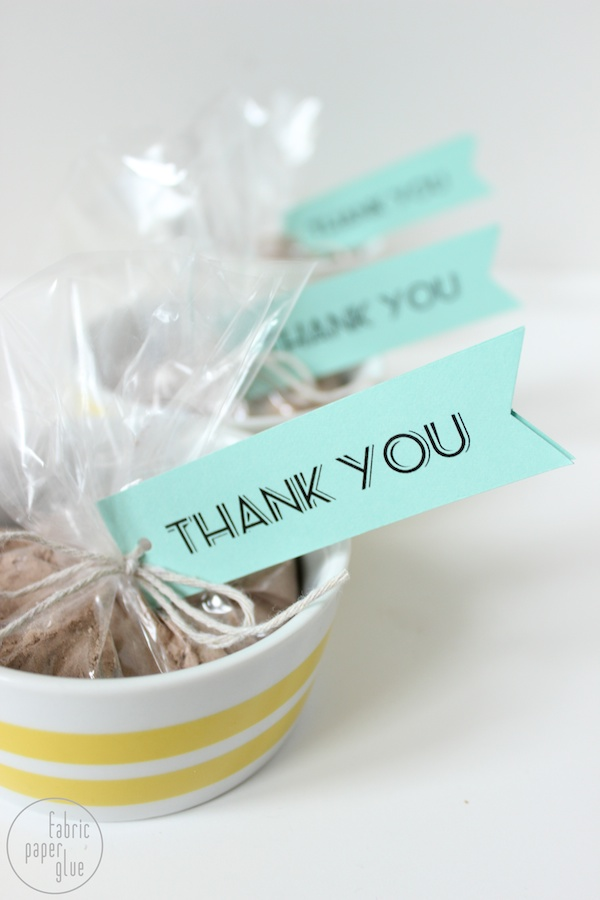 DIY Shower Favors 9