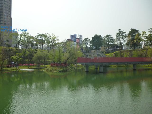 景觀橋及深水區一隅