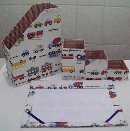 "Kit para meninos ""Transportes"" by Galinha Xoca"