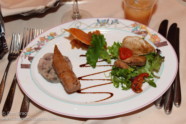 Lunch at Auberge de Cendrillon