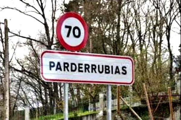 Nombres de pueblos curiosos y su traducción al inglés, como Parderrubias (Pair Of Blondes), en Pontevedra