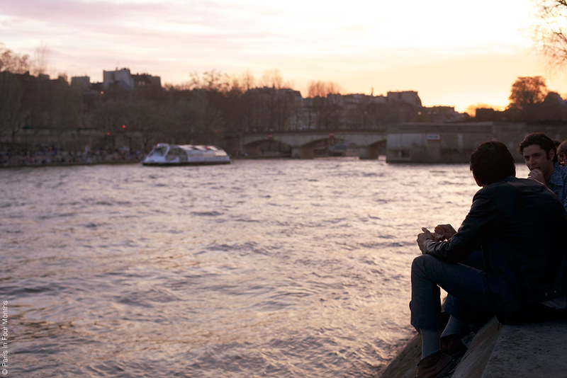 Evening Picnic by the Seine by Carin Olsson (Paris in Four Months)