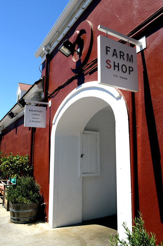 Farm Shop Entrance