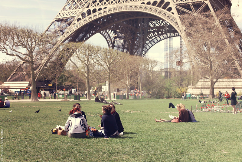 By the Eiffel Tower