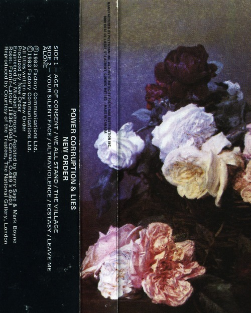 Print Inspiration Mood Board - Roses & Bandanas - Power, Corruption & Lies by Peter Saville for New Order