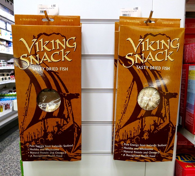 Viking Snack Tasty Dried Fish, Iceland 2013