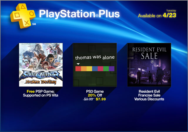 PlayStation Plus Update 4-23-2013