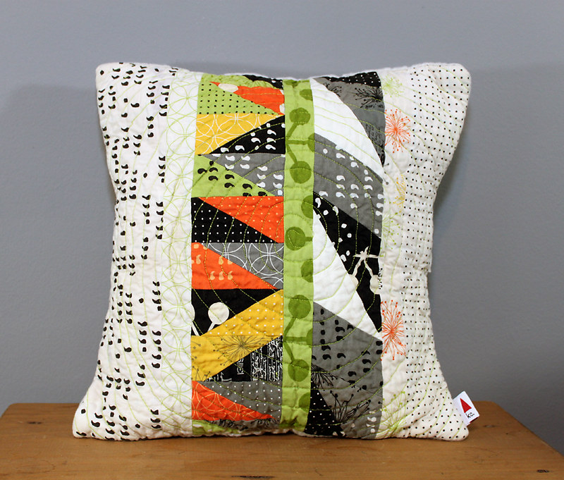 Comma Leftovers Pillow