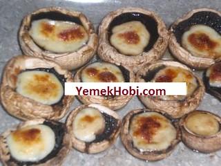 resimli Fırında Kaşarlı Mantar tarifi pratik tarifler mantarlı yemekler mantarlı tarifler kolay yemekler fırında mantar nasıl yapılır fırın mantar yemekleri diyet yemekler