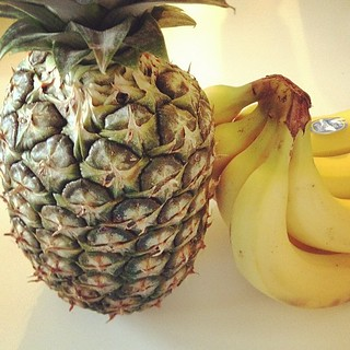 Day109 Been eating lots of pineapple lately. 4.20.13 #jessie365