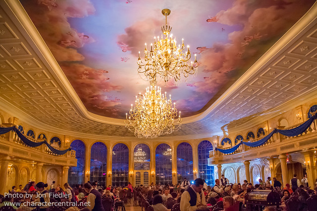 WDW Spring 2013 - Dinner at Be Our Guest