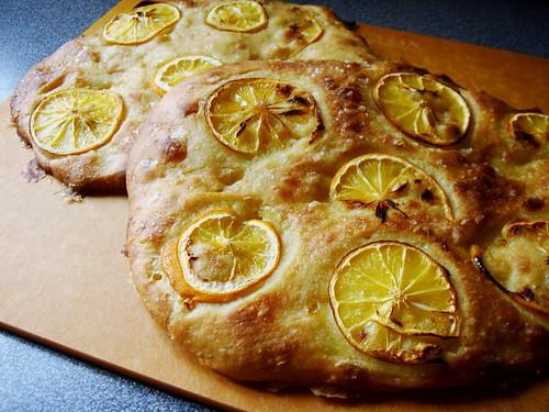 Meyer Lemon Focaccia