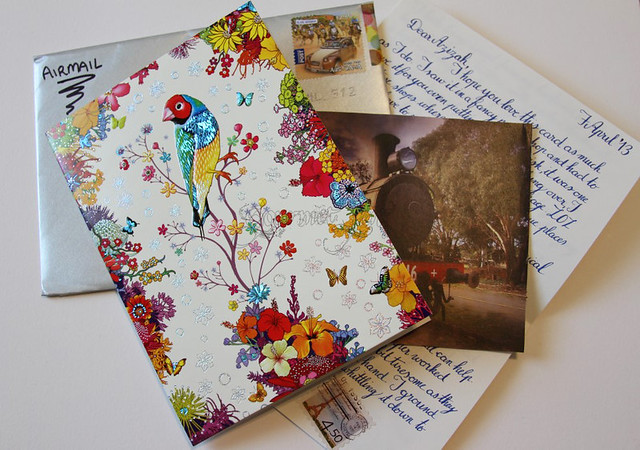 Letter & Gorgeous Card & Picture from Yvonne (@Woosang)