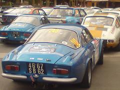 race car, automobile, vehicle, alpine a110, performance car, antique car, land vehicle, coupã©, sports car,