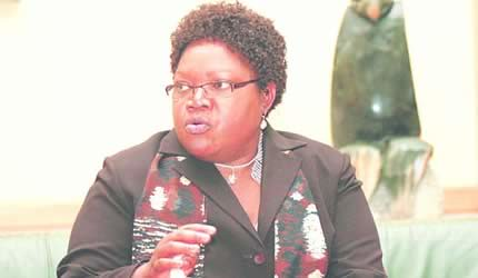 Republic of Zimbabwe Vice President Joice Mujuru. She has encouraged students to seek excellence in education. by Pan-African News Wire File Photos