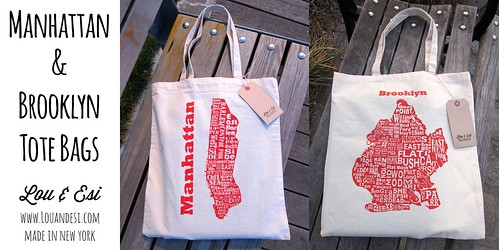 Brooklyn and Manhattan Tote