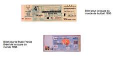 billets coupe du monde 1998