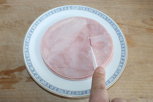 26 - Schinken schneiden / Cut ham