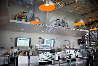【组图】感受谷歌自行车文化 超7%员工每天骑车上班