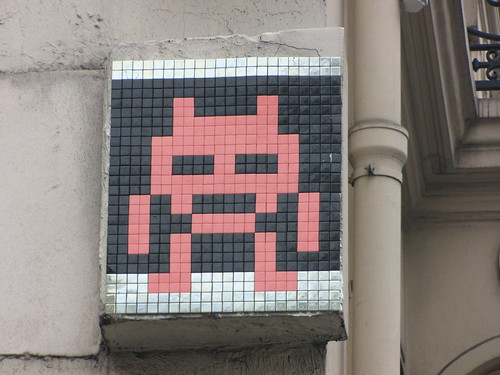 Space Invader PA_1???, Paris 3eme
