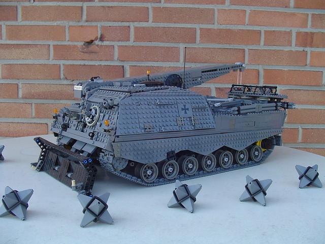 Der Leopard 2  Bergepanzer-Büffel