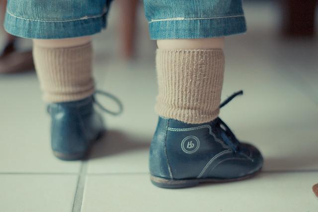 chaussures bébé vintage babybotte