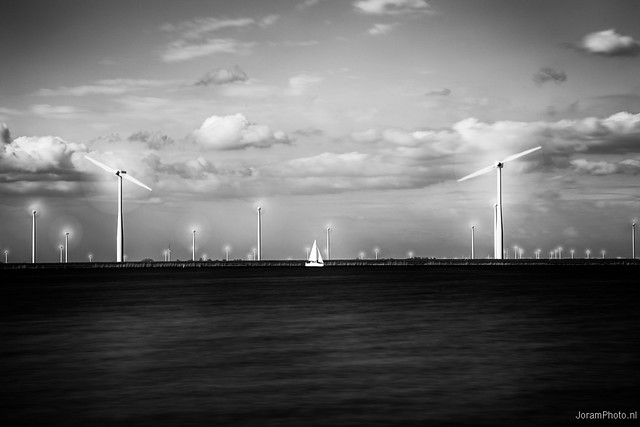 Modern Dutch Landscapes (B/W)