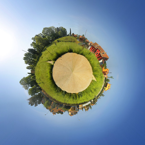 Bracciano (Rome) Mini Planet by Devilnax