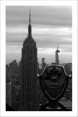 El Empire visto desde el Rockefeller Center