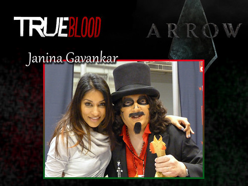 "Sven and ""True Blood"" actress Janina Gavankar"