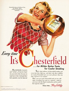 Chesterfield Cigarettes and Basketball