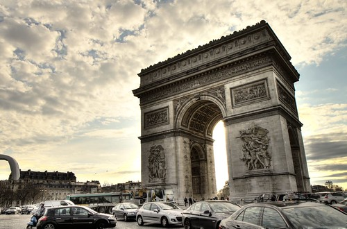 Arc de Triomphe, Paris (HDR)
