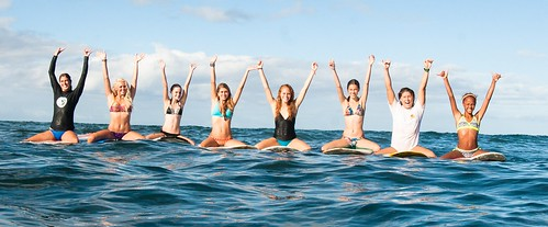 Maui Surfer Girls Camp, Photo Courtesy of Maui Surfer Girls