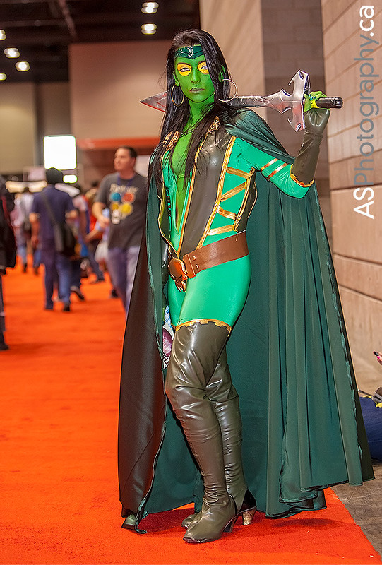 Cosplayer captured at C2E2 2013