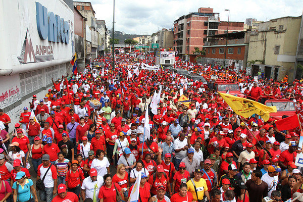 Marcha Chavista 7