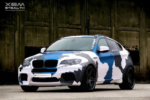 BMW X6 M Stealth by Inside Performance