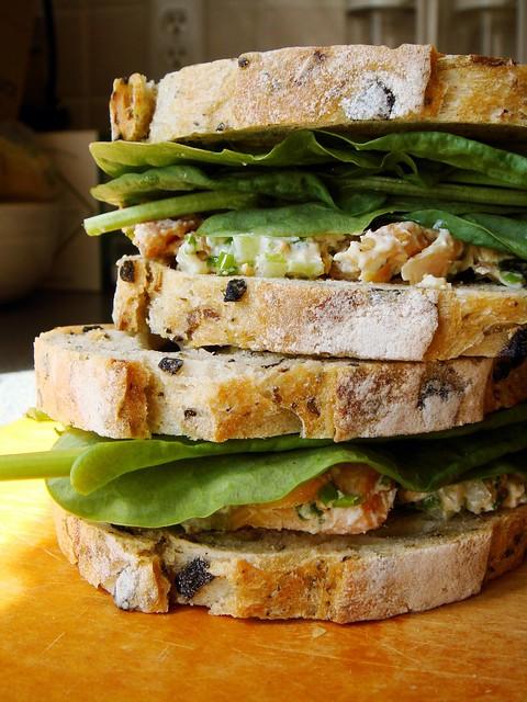 Market Picnic Smoked Fish Sandwich