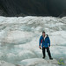 Dan at Franz Josef Glacier - South Island, New Zealand