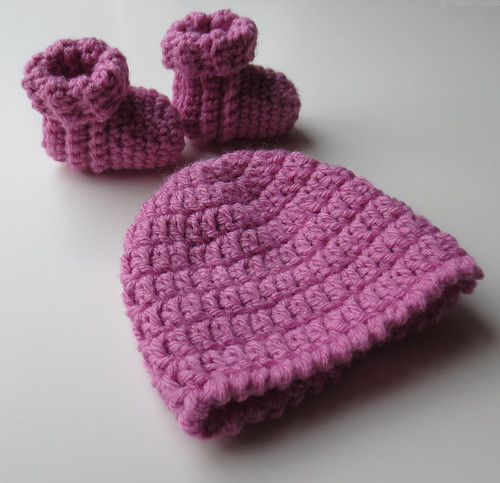 Baby Doll Booties and Hats My Recycled Bags.com