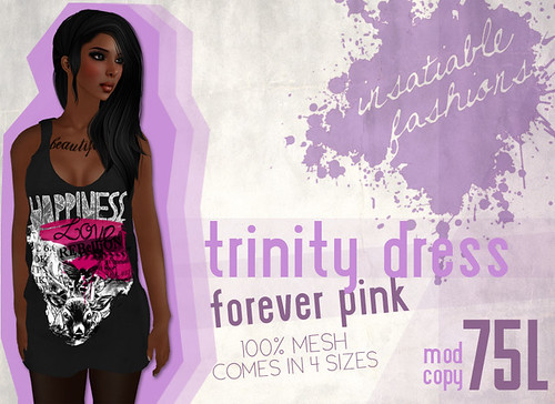 [IF] Trinity Dress - [Forever Pink] Ad