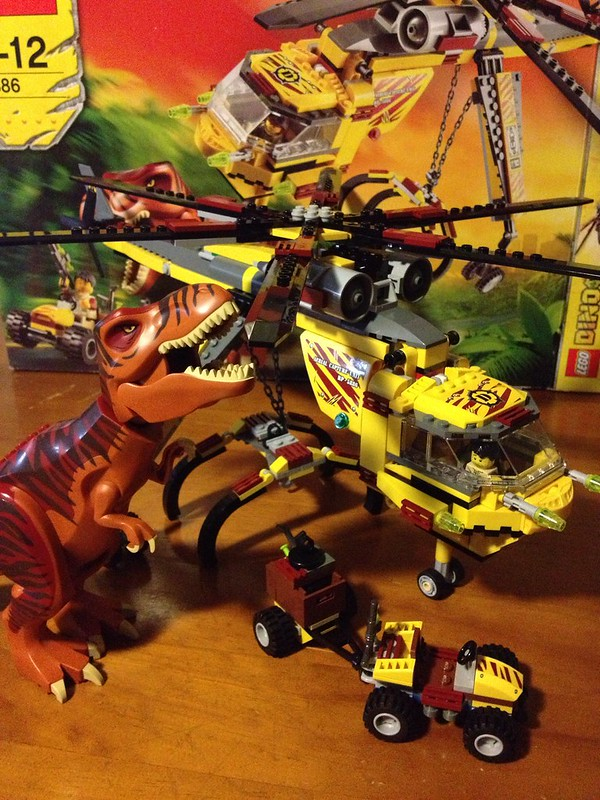 Dino T-Rex Hunter #5886