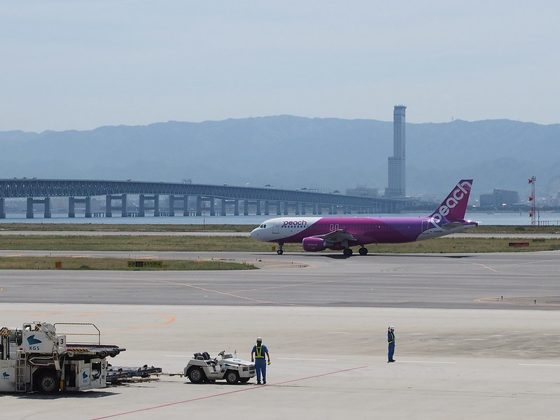 Peach A319? in Kansai International Airport