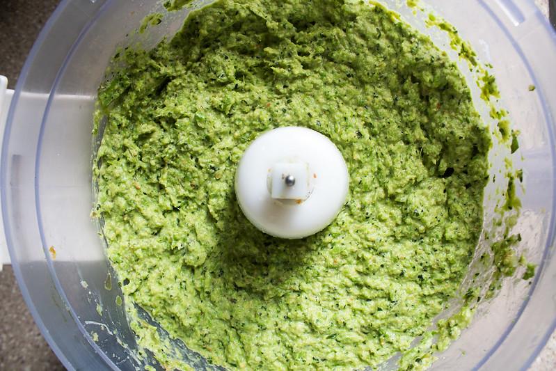 creamy asparagus pesto